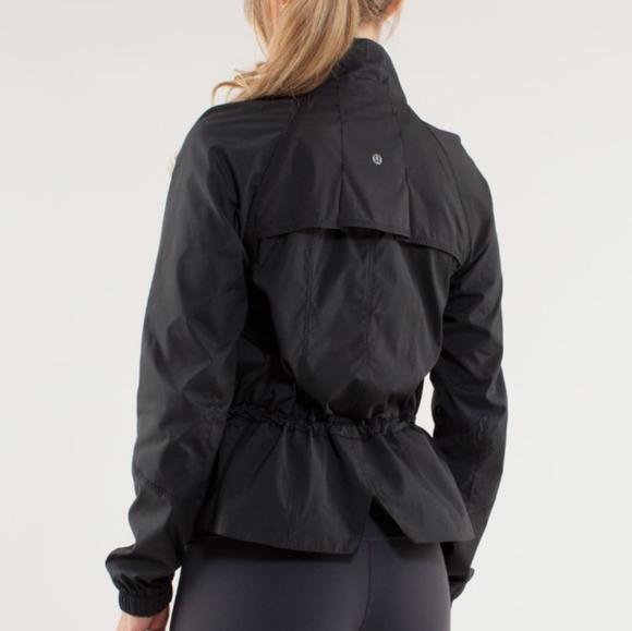 lululemon athletica Jackets & Blazers - Lululemon Rare Run: Travel to Track Jacket  Black